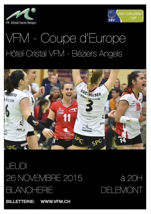 Image Coupe d'Europe 26 novembre 2015